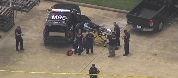 8 suspects in custody after bank robbery near Katy
