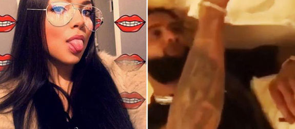 Mystery woman in Odell Beckham video tells News Giants star didn't do drugs, was holding 'a piece of pizza'